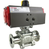 Air Actuated Sanitary Ball Valves- Scotch Yoke
