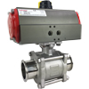 Air Actuated Sanitary Ball Valves