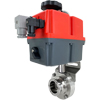 Electric Actuated Sanitary Butterfly Valves - Multi-Voltage