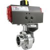Air Actuated Sanitary Butterfly Valves