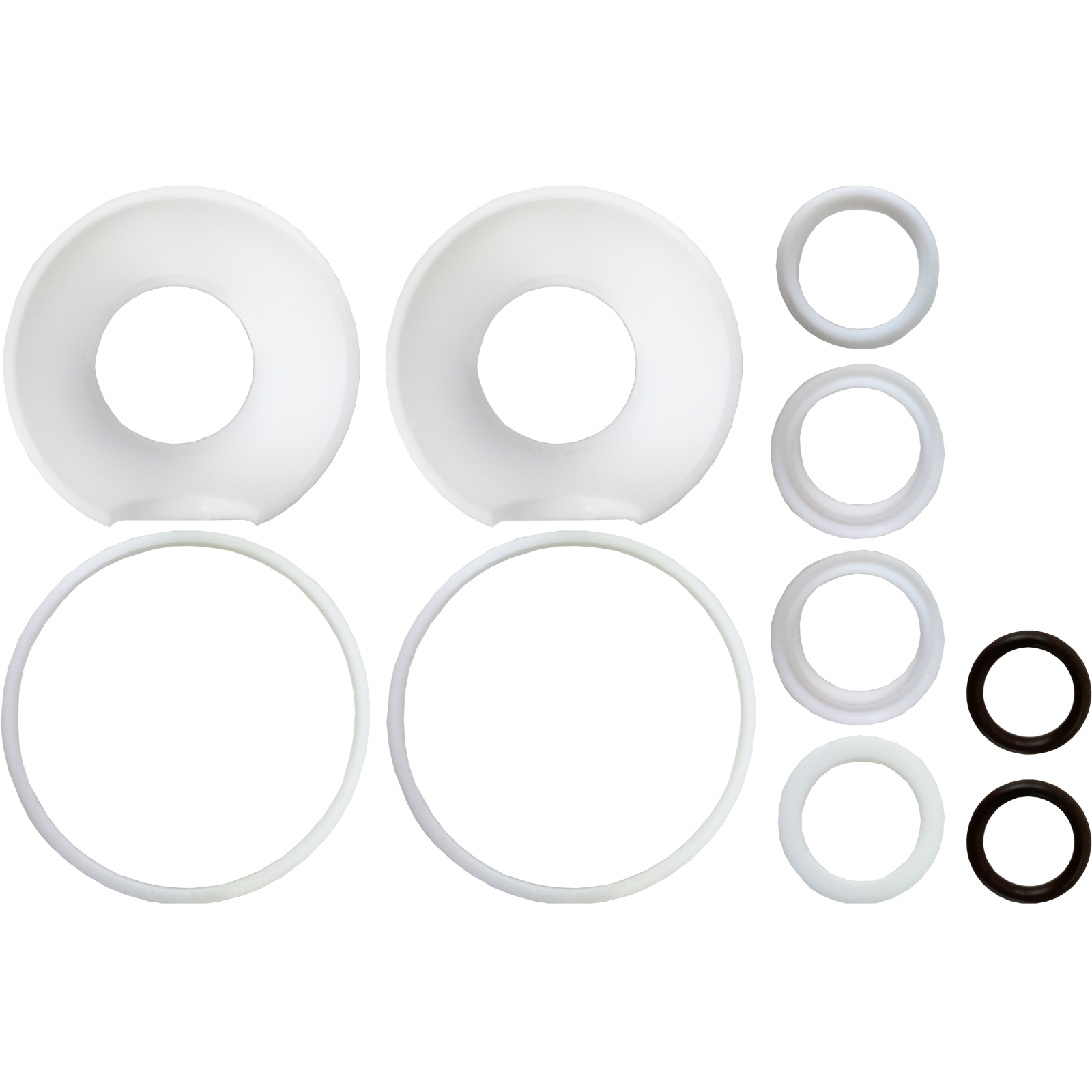 "3/4"" Sanitary Ball Valve Seal Kit,  2 Way, Cavity Filled"
