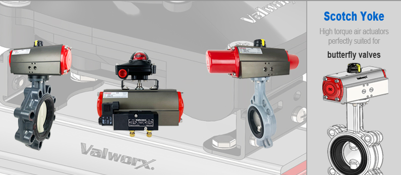 Scotch Yoke Actuators