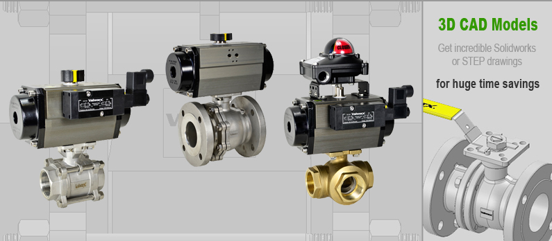 Air Actuated Ball Valves