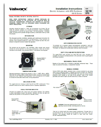 5618 Series Electric Actuators with EPS Positioner