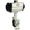 Air Actuated Butterfly Valves Lug Style