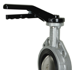 """Butterfly Valve Hand Lever 4"""", F07-14mm"""