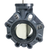 Bare Stem PVC Butterfly Valves