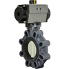 Air Actuated PVC Butterfly Valves