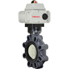 Electric Actuated PVC Butterfly Valves - On/Off