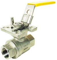 "1/4"" Stainless Ball Valve - Direct Mount"