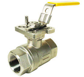 Stainless Ball Valve 1-1/4 NPT