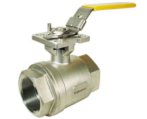 "Stainless Ball Valves 2"" NPT"