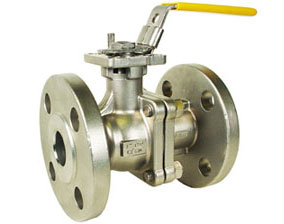 "1"" Stainless ANSI 150# Flanged Ball Valve - ISO Direct Mount"
