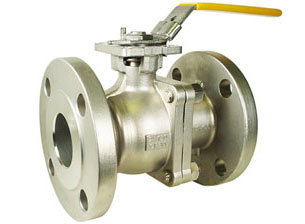 "2"" Stainless ANSI 150# Flanged Ball Valve - ISO Direct Mount"