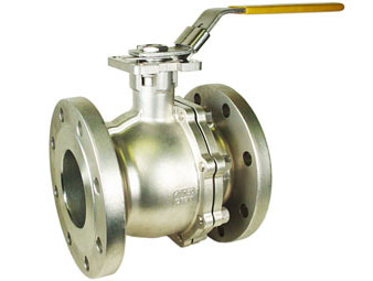 Stainless ANSI 150# Flanged Ball Valve 4""