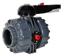 "PVC Ball Valve - EPDM/Teflon Seals 2-1/2"""