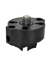 "PVC Valve/ Actuator Mounting Kit 1-1/4"", F05/F07-11mm"