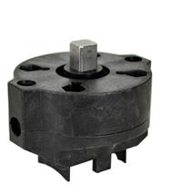 "PVC Ball Valve/ Actuator Mounting Kit 1-1/2"", F05/F07-11mm"