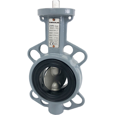"Direct Mount 2"" Butterfly Valve Wafer NBR"
