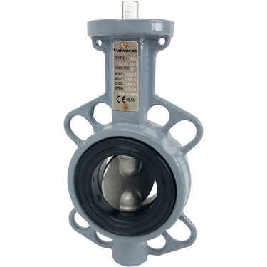 "Direct Mount 2-1/2"" Butterfly Valve Wafer NBR"
