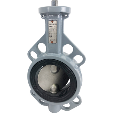 "Direct Mount 2-1/2"" Butterfly Valve Wafer EPDM"