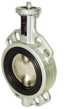 Direct Mount Butterfly Valve Wafer NBR 4""
