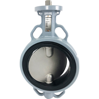 Direct Mount Butterfly Valve Wafer NBR 6""