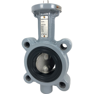 "Direct Mount 2"" Butterfly Valve Lug NBR"