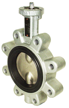 Direct Mount Butterfly Valve Lug NBR 4""