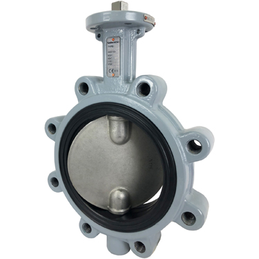 Direct Mount Butterfly Valve Lug NBR 6""