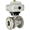 Electric Actuated Stainless Flanged Ball Valves