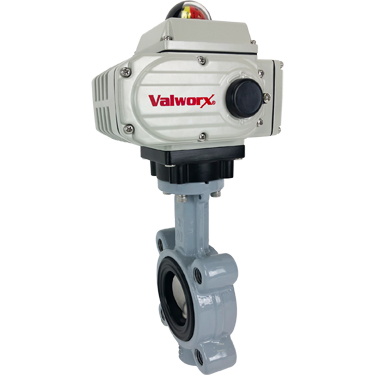 """2"""" Electric Actuated Butterfly Valve, Lug, NBR, 110 VAC"""