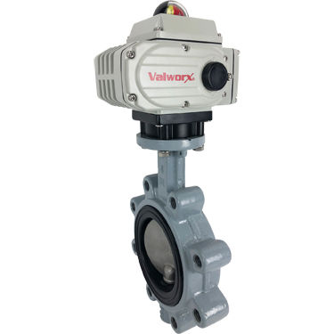 """4"""" Electric Actuated Butterfly Valve, Lug. EPDM, 24 VDC"""