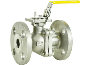 Stainless ANSI 150# Flanged Ball Valve 3/4""