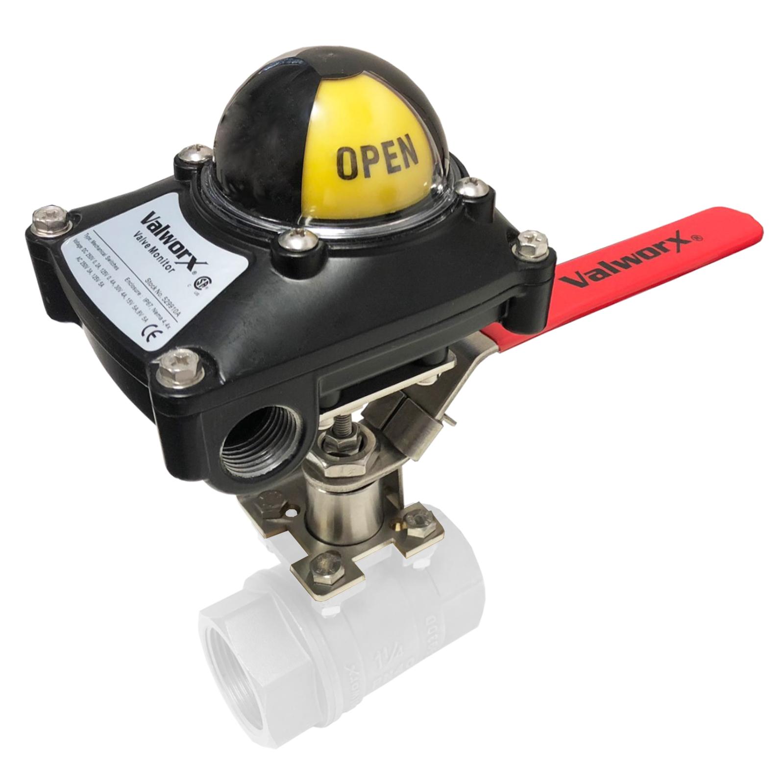 Manual Limit Switch F03/F05 11mm Stem