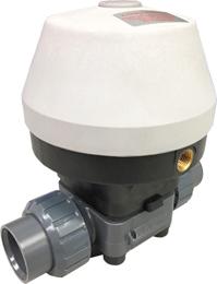 """1"""" Air Actuated PVC Diaphragm Valve - Spring Return/PTFE Diaphragm"""