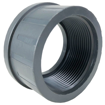 "1-1/2"" PVC End Connector, NPT"