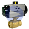 Air Actuated Brass Ball Valves