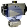 Air Actuated Stainless Ball Valves