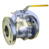 Full Port Stainless Flanged Ball Valves