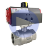 Air Actuated Stainless Ball Valves- Scotch Yoke