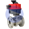 Electric Actuated Stainless Flanged Ball Valves - Multi-Voltage
