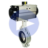 Air Actuated Butterfly Valves Wafer