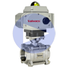 Electric Actuated 3-Piece Stainless Ball Valves