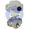 Electric Actuated Stainless 3-Way Ball Valves