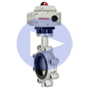 Electric Actuated Butterfly Valves Lug Style