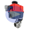 Electric Actuated Sanitary Butterfly Valves- Multi-voltage
