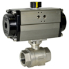 Air Actuated Stainless Ball Valves- Rack & Pinion