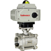 Electric Actuated 3-Piece Stainless Ball Valves - On/Off