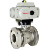 Electric Actuated Stainless Flanged Ball Valves - On/Off